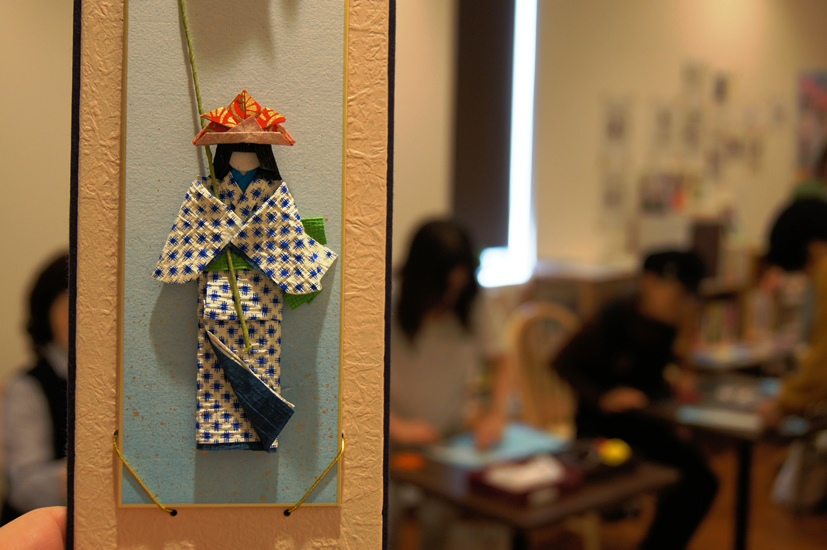 和紙人形教室(4月26日)申込受付中